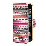 Aztec Colorful Stripe Pattern PU Full Body Ca... – USD $ 5.99
