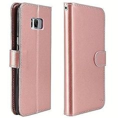 Samsung Galaxy Plus Luxury Leather Wallet Case With Card Holder Clear Pink for sale online Galaxy S8, Samsung Galaxy, S8 Plus, Leather Wallet, Wallets, Card Holder, Tech, Luxury, Garden