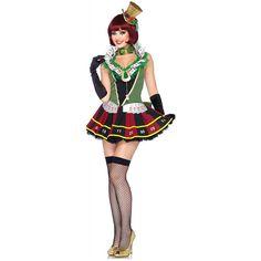 Lucky Lady kostuum volwassene Las Vegas Casino geluk meisje Halloween Fancy Dress - #Gratiscasino