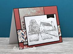 The best things in life are Pink.: Authentique's Durable 6x6 cards
