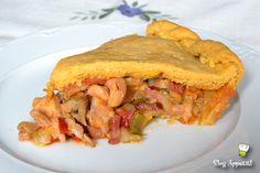 Empanada Gallega de pollo, bacon y chorizo