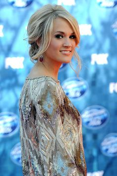Pictures of Carrie Underwood Messy Updo Hairstyles. Get hairstyles ideas and inspiration with Carrie Underwood Messy Updo Hairstyles. Wedding Hairstyles For Long Hair, Party Hairstyles, Wedding Hair And Makeup, Celebrity Hairstyles, Wedding Updo, Blonde Hairstyles, Homecoming Hairstyles, Modern Hairstyles, Bridal Hairstyles