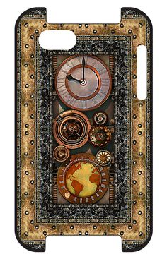 """✯ Elegant Steampunk Timepiece"""" iPhone & iPod Cases :: By Steve Crompton ✯"""