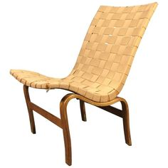 Early 1939 Signed Bruno and Karl Mathsson 'Eva' Chair, Sweden