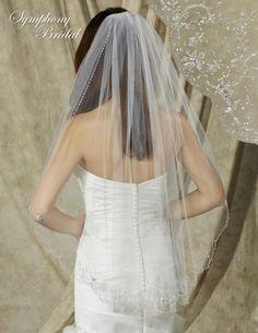 Symphony+Bridal+Veils+-+Style+6614VL