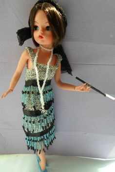 Flapper OOAK Sindy. Sold on eBay, 2nd September 2013. seller: oodos. #sindy