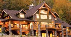 Timber Frame Homes for Efficiency and Economical Home Design ...