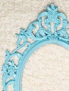 Large Oval Ornate