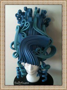 Barokpruik: Made of foam from FollyFoam