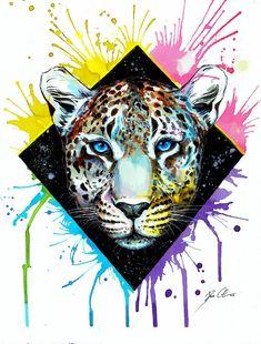 """Impresión del arte """"Leopard"""""""