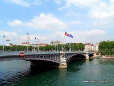 Lyon, Pont Lafayette, Rhône