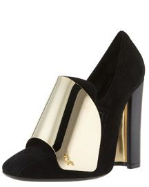 YSL Cardinal Loafer pump. complete with armor.
