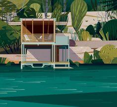Casa en el Lago, Texas. Image Courtesy of Marie-Laure Crushi