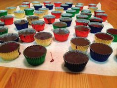 Gunns momsemat: Sjokoladekarameller Mini Cupcakes, Muffin, Sweets, Foods, Snacks, Breakfast, Desserts, Caramel, Food Food