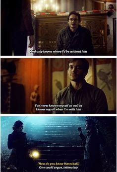 "Will ""subtle"" Graham. Hannibal season 3. Source: ohbirds.tumblr"