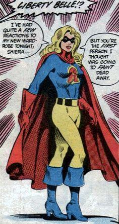 "Belle Liberty DC Comics | Elizabeth ""Libby"" Lawrence-Chambers"