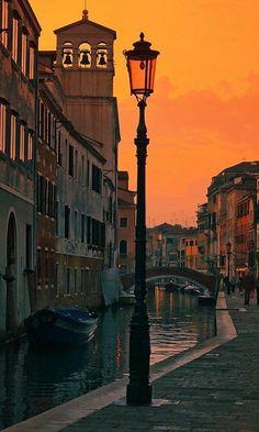 Venice Italy. Perfect night