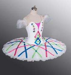 Classical Professional Ballet Tutu Made 2 UR Size Harlequin doll 4 Competition | eBay