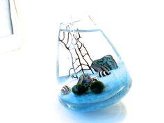 Marimo terrarium pet in the rocking periwinkle sea http://contestchest.com/contests/win-marimo-terrarium?referred_by=89768