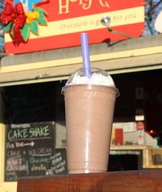 Proving that food trucks really do have more fun, the crew running the Holy Cacao trailer in Austin, Texas, created a frozen Mexican hot chocolate made with ancho chile and cinnamon. It's a rich but refreshing on-the-go treat, and was named to Travel+Leisure's list of America's Best Hot Chocolate!
