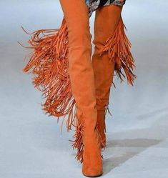 Boho Boots, Fringe Boots, Fur Boots, Thigh High Boots, Over The Knee Boots, Long Fringes, Thigh Highs, Suede Leather, Thighs