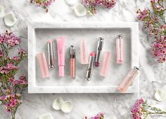 Dior Addict Lip Glow, Lip Glow Pomade, Lip Sugar Scrub and Lip Maximizer Review + Swatches