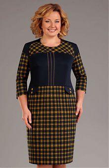 Платья для полных женщин: купить женские платья больших размеров в интернет магазине «L'Marka» [Страница 24]