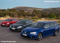 Volkswagen Golf GTD Variant 2015 poster, #poster, #mousepad, #tshirt, #printcarposter