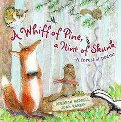 A great book of poetry for kids! This one inspired my students to write poems of their own. Forest Animals, Woodland Animals, Nocturnal Animals, Woodland Creatures, Poetry Books For Kids, Kids Poems, Forest Habitat, National Poetry Month, Book Of Poems
