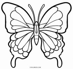 How to Draw a Black Butterfly Step by Step Bugs Animals FREE Online Drawing Tutorial Added by Dawn March 11 2014 pm Easy Butterfly Drawing, Butterfly Sketch, Butterfly Stencil, Butterfly Quilt, Butterfly Template, Butterfly Art, Printable Butterfly, How To Draw Butterfly, Crown Template