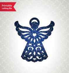 #lasercut #angel #christmas First Communion decoration template