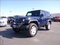 2013 Jeep Wrangler Sport Navy Blue http://www.iseecars.com/used-cars/used-jeep-wrangler-for-sale