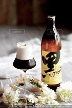黒伊佐コーヒーカクテル💕女の子に💕の写真・画像素材[1448150]-Snapmart(スナップマート) Cocktail Recipes, Cocktails, Drinks, Wine, Bottle, Craft Cocktails, Drinking, Beverages, Flask