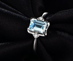 Hey, I found this really awesome Etsy listing at https://www.etsy.com/listing/234438246/14k-white-gold-emerald-cut-5271mm