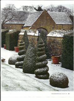 Bourton House - Gloucestershire, England