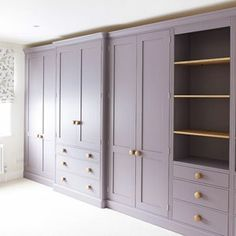 Exceptional handmade solid wood kitchens and furniture Wardrobe Room, Wardrobe Furniture, Home Furniture, Wardrobe Ideas, Purple Rooms, Pink Room, Solid Wood Kitchens, Wooden Kitchens, Painted Wardrobe