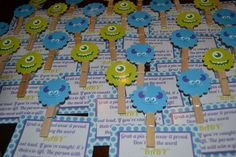 """Photo 2 of 27: Monster's Inc / Baby Shower/Sip & See """"Monster's Inc Baby Shower"""" 