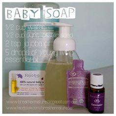 DIY Baby Soap