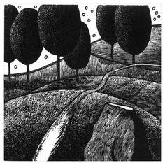 Woodengraving - Peter Ursem