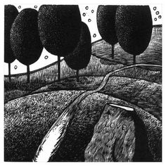 Woodengraving - Peter Ursem