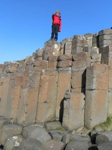 Giants Causeway Bushmills Antrim Ireland - Exploramum & Explorason