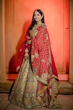 Indian Bridal Outfits, Indian Bridal Fashion, Indian Bridal Wear, Event Dresses, Bridal Dresses, Party Dress Outfits, Dress Indian Style, Indian Dresses, Dulhan Dress