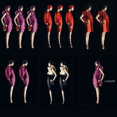 Lanvin- repeated images