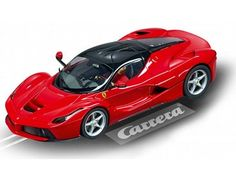 The Carrera La Ferrari Evolution Series Slot Car, is a superbly detailed Carrera Evolution race car for use on any 1/32 analogue slot car layout layout.
