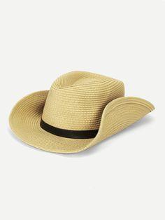 537ed41695051 Cheap Men Buckle Decor Cowboy Hat for sale Australia