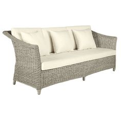 Santa Barbara 3-Seater Sofa - White