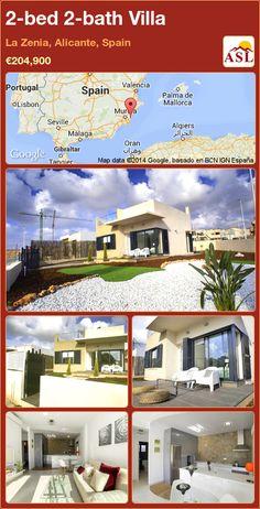 2-bed 2-bath Villa in La Zenia, Alicante, Spain ►€204,900 #PropertyForSaleInSpain