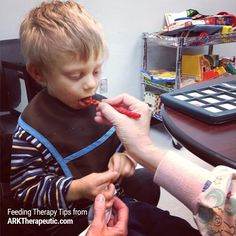 """ARK Therapeutic: """"Think Outside the Plate"""" feeding therapy ideas. Pinned by SOS… Speech Pathology, Speech Language Pathology, Speech And Language, Oral Motor Activities, Speech Therapy Activities, Physical Activities, Pediatric Occupational Therapy, Pediatric Ot, Therapy Tools"""