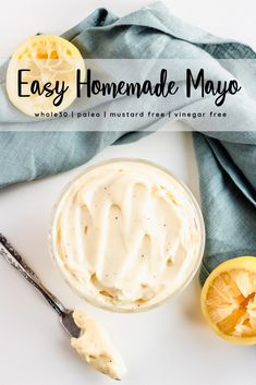 This mayo recipe is homemade and is surprisingly easy to make. Use an immersion blender and have healthy homemade mayo in minutes! This clean mayo recipe is whole30, keto, paleo, and made with avocado oil. Use it for all your chicken and mayo recipes! It has no mustard and is the BEST homemade mayo I've ever had. Click the image to learn all about how to make mayo! And make sure to pin this image to your whole 30 recipes board! #mayo #mayonnaise #whole30 #paleo #healthy #easyrecipes. Whole 30 Mayonnaise Recipe, Avocado Mayo Recipe, Mayonaise Recipe, Avocado Oil, Homemade Mayo Recipe, Homemade Mayonnaise, Homemade Sauce, Whole 30 Recipes, Real Food Recipes