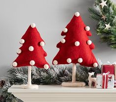 It's beginning to look a lot like Christmas at Pottery Barn Kids! With an extensive range of christmas tree decorations, christmas ornaments, christmas decorations plus much more! Merry Christmas, Christmas Tree Toppers, Christmas Balls, Christmas Crafts, Christmas Ornaments, Felt Christmas Trees, Christmas Wreaths, Reindeer Decorations, Christmas Decorations